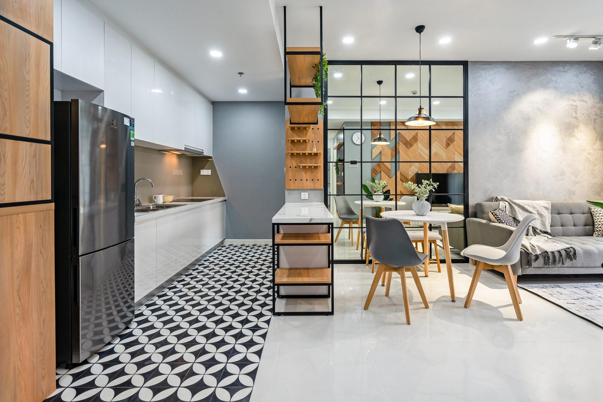Industrial Style - Gợi ý không thể bỏ qua cho người thích không gian sống mộc mạc - Ảnh 3.