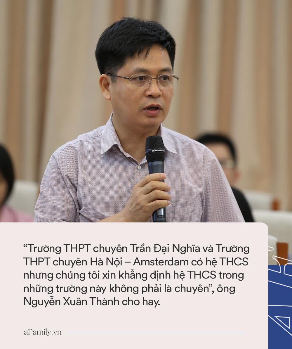 Bộ GD-ĐT khẳng định trường THCS Hà Nội-Amsterdam và Trần Đại Nghĩa không phải trường chuyên, cha mẹ tránh nhầm lẫn - Ảnh 1.