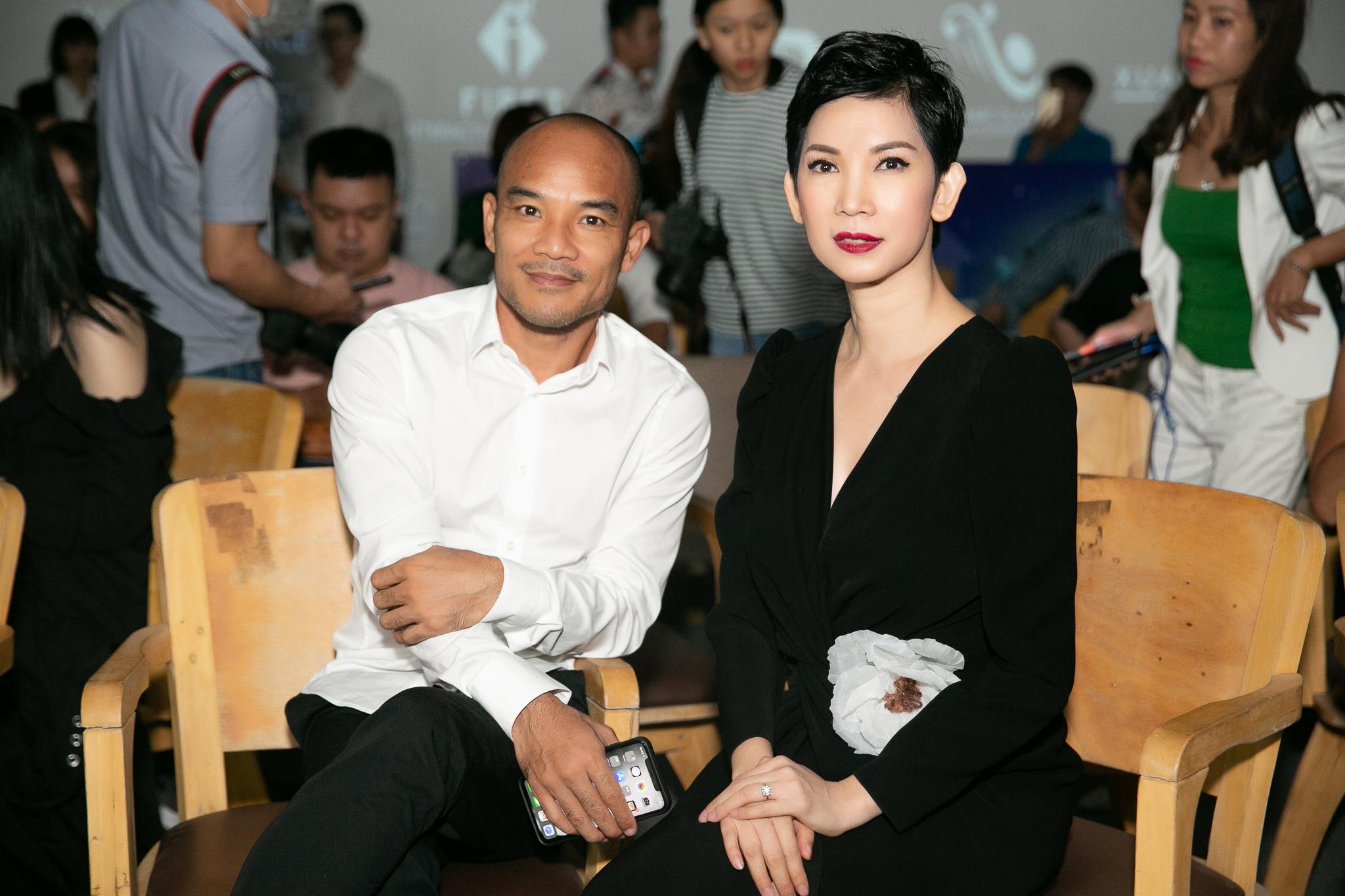 Lần đầu tiên đồng hàng cùng chồng, siêu mẫu Xuân Lan  - Ảnh 3.