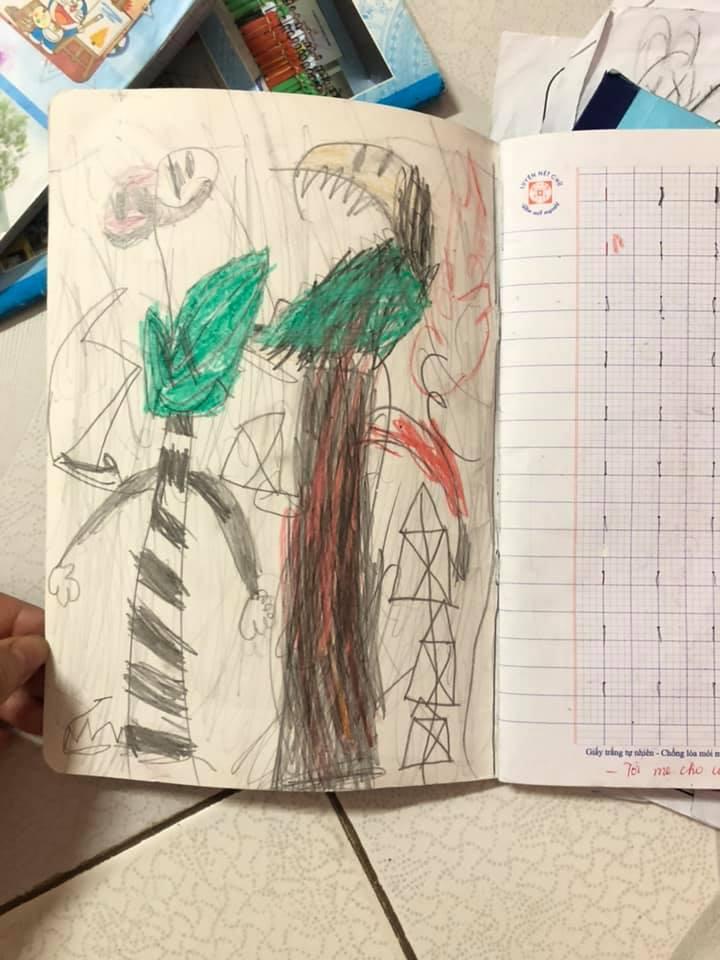 """Vô tình chia sẻ ảnh vở tập viết của con, mẹ trẻ được dân mạng chỉ ra """"bệnh chung"""" mà đứa trẻ nào cũng mắc phải khi đến tuổi đi học - Ảnh 2."""