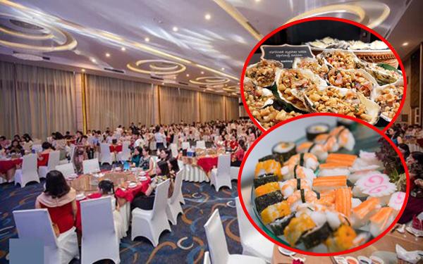 Những buổi tiệc tổng kết năm học sang chảnh của học sinh, xem đến phần thực đơn hoành tráng như tiệc cưới nhiều người giật mình vì độ chịu chi