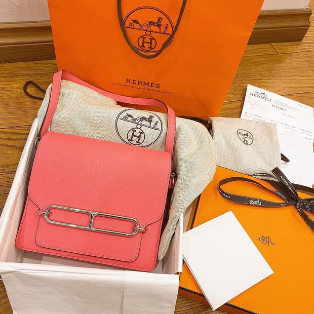 Xứng danh vợ Mạnh gắt, Quỳnh Anh cũng khét ra trò: Trong 2 tháng tậu liền 3 chiếc túi Hermès, tổng giá trị hơn nửa tỷ đồng - Ảnh 4.