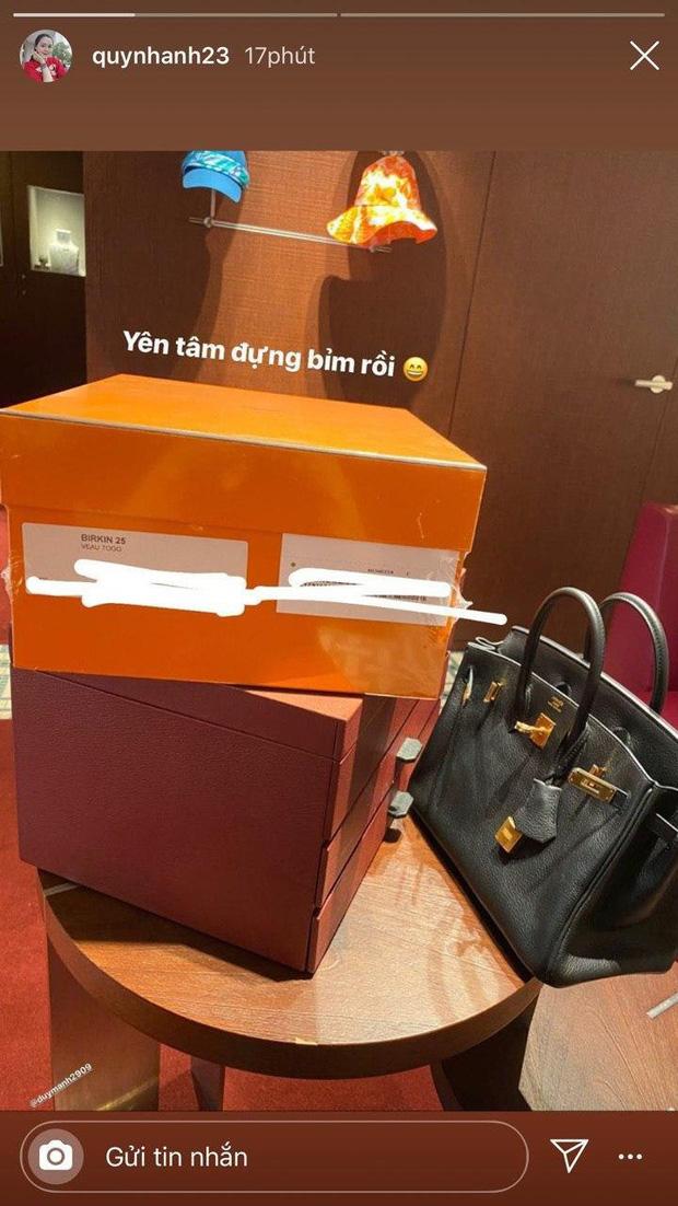 Xứng danh vợ Mạnh gắt, Quỳnh Anh cũng khét ra trò: Trong 2 tháng tậu liền 3 chiếc túi Hermès, tổng giá trị hơn nửa tỷ đồng - Ảnh 3.