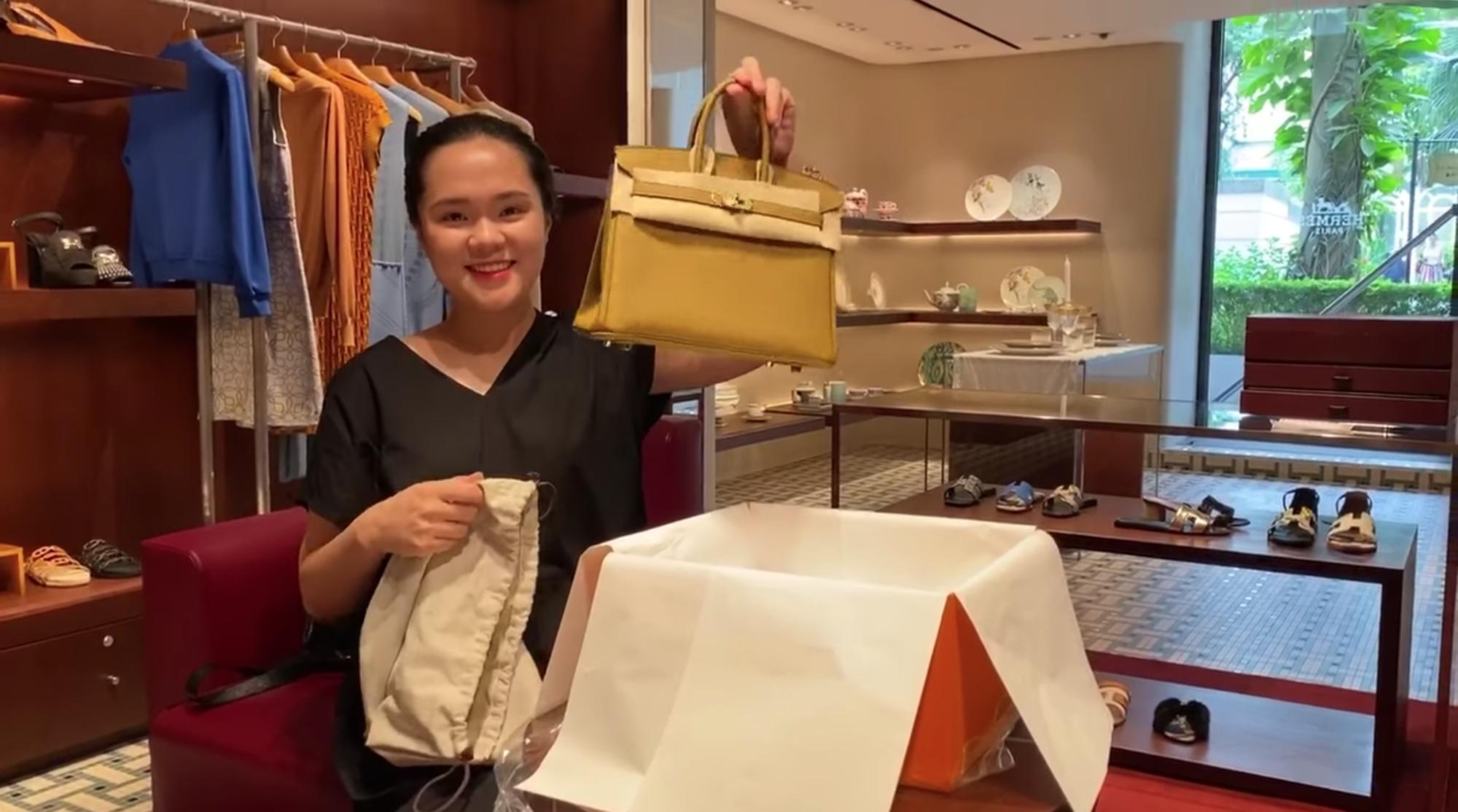 Xứng danh vợ Mạnh gắt, Quỳnh Anh cũng khét ra trò: Trong 2 tháng tậu liền 3 chiếc túi Hermès, tổng giá trị hơn nửa tỷ đồng - Ảnh 2.