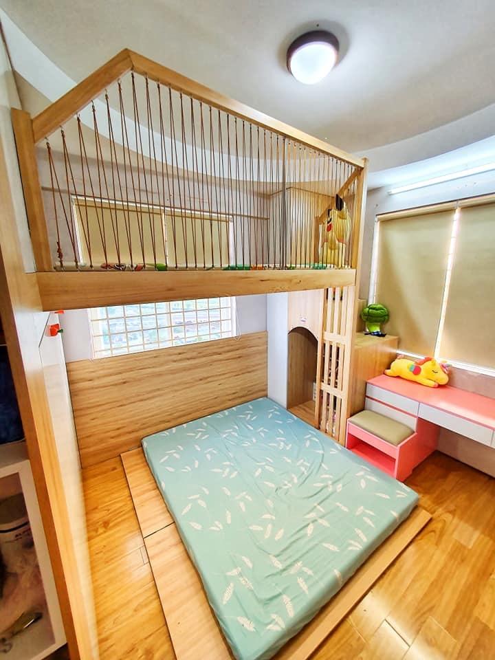 Đón con thứ 2 chào đời, ông bố trẻ quyết định đầu tư làm tặng cho cô con gái lớn 1 phòng gác lửng đẹp như mơ, song chi phí được tiết lộ mới thật sự gây ấn tượng - Ảnh 6.