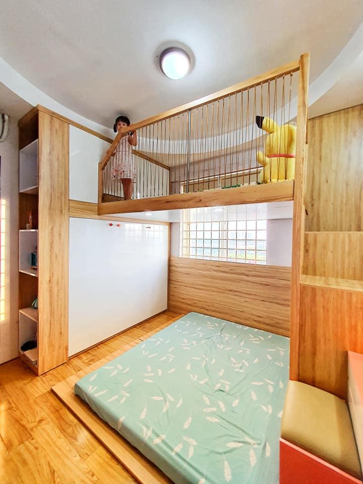Đón con thứ 2 chào đời, ông bố trẻ quyết định đầu tư làm tặng cho cô con gái lớn 1 phòng gác lửng đẹp như mơ, song chi phí được tiết lộ mới thật sự gây ấn tượng - Ảnh 2.