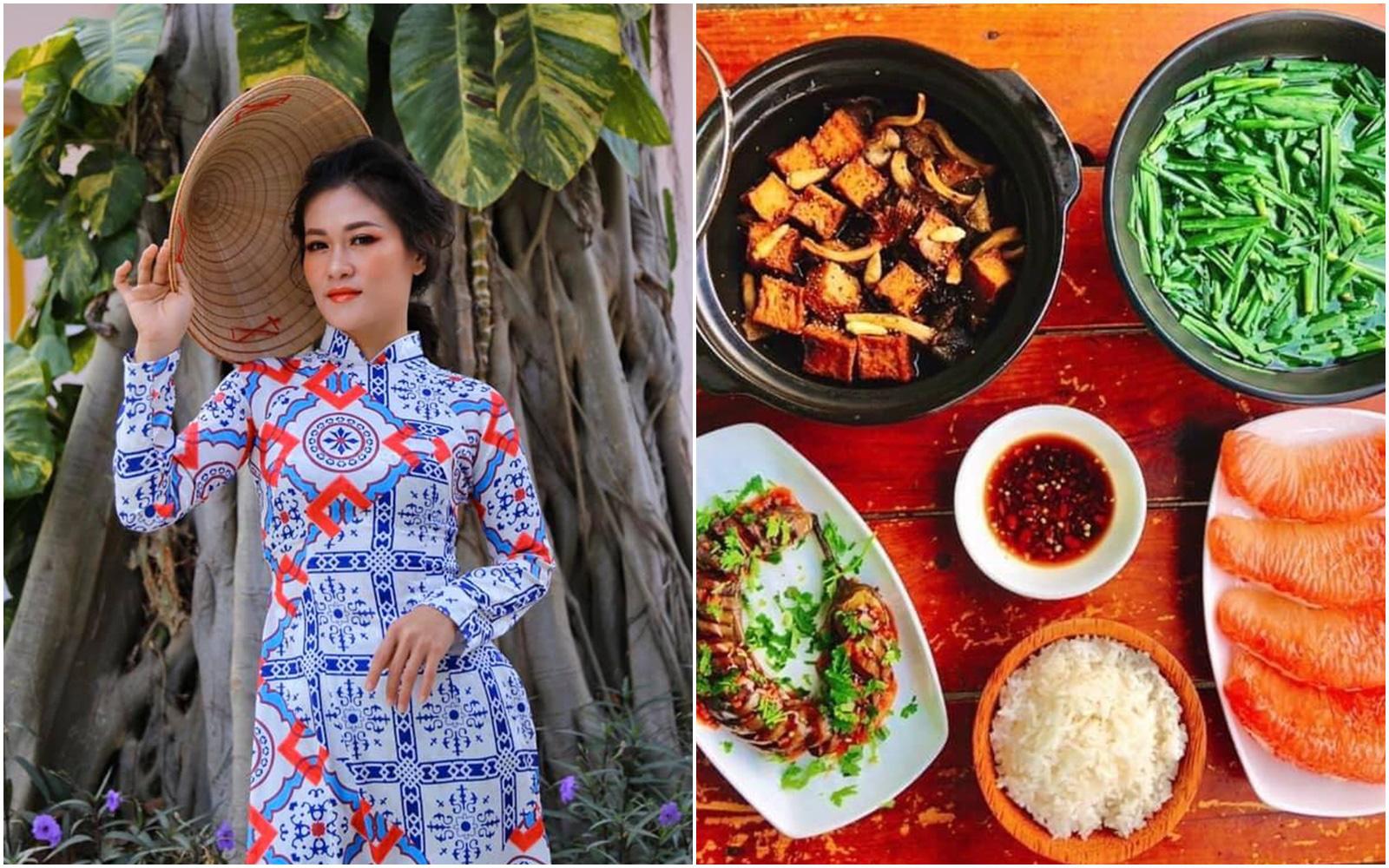 Những mâm cơm chay với giá cả vô cùng hợp lý của cô gái ở Vũng Tàu nhưng ai nhìn cũng thốt lên ngon như nhà hàng nấu