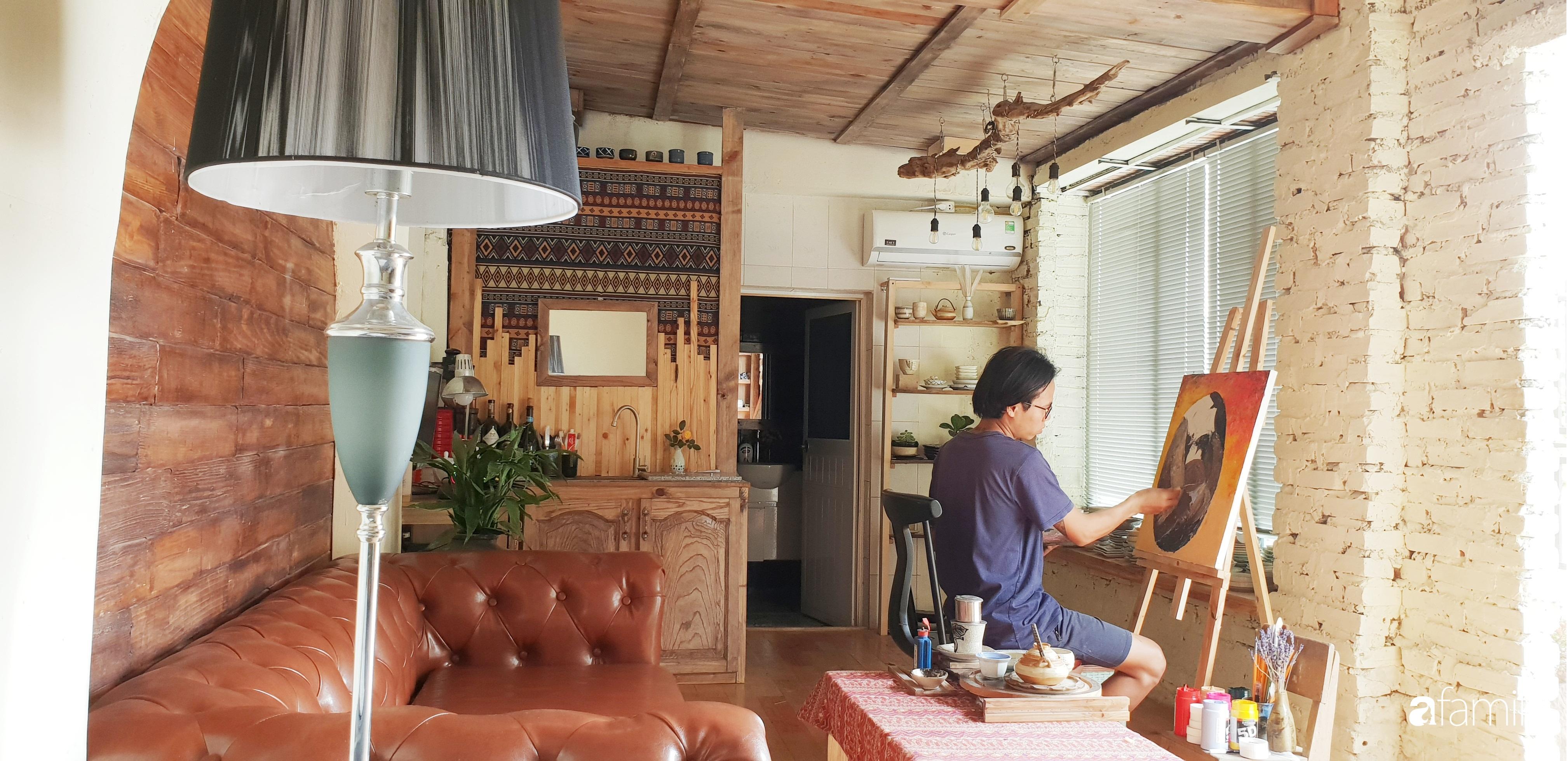 Chàng trai miền Trung biến nhà kho cũ thành ngôi nhà hạnh phúc đẹp lãng mạn cho hai vợ chồng - Ảnh 8.
