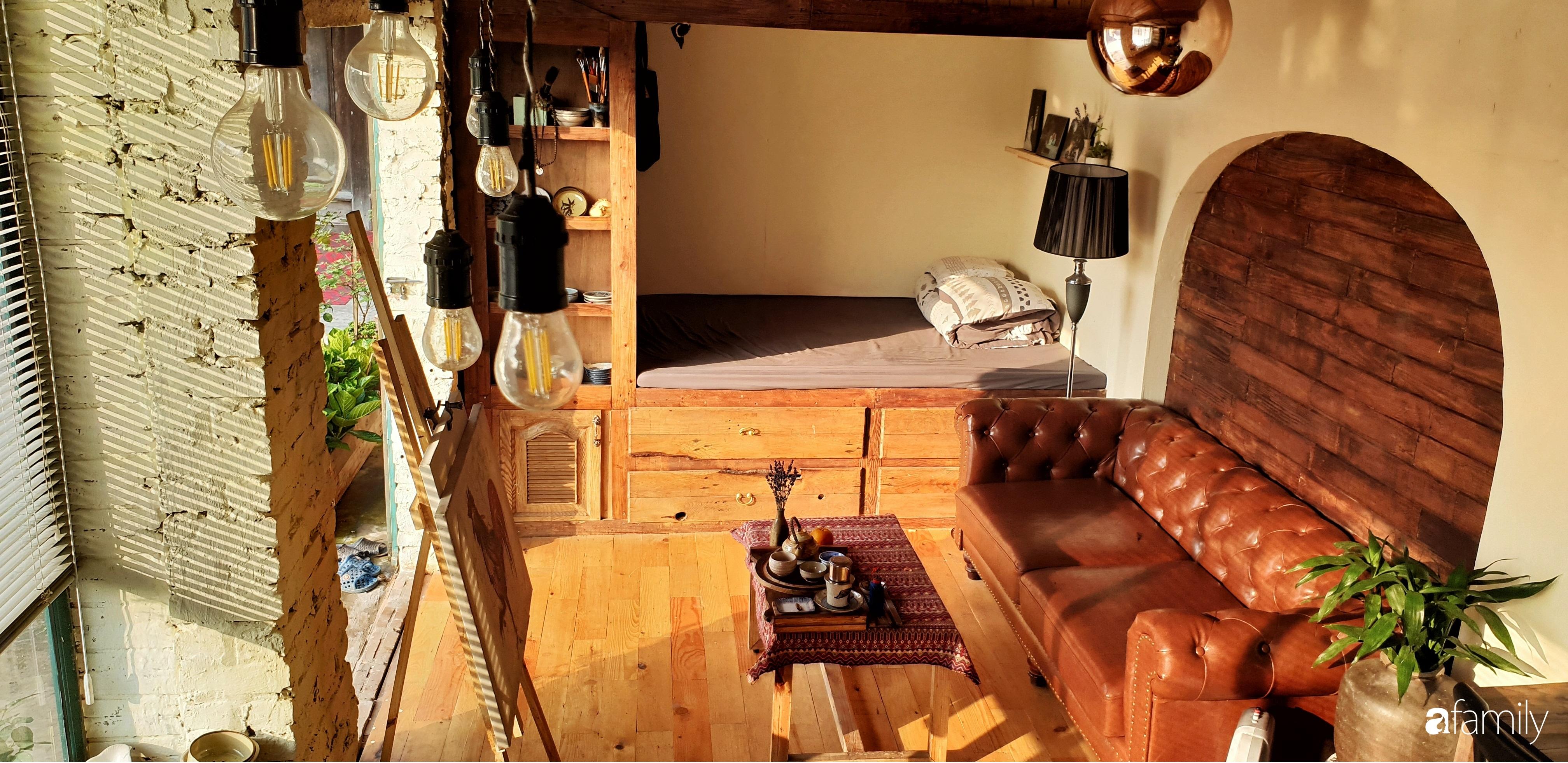 Chàng trai miền Trung biến nhà kho cũ thành ngôi nhà hạnh phúc đẹp lãng mạn cho hai vợ chồng - Ảnh 11.