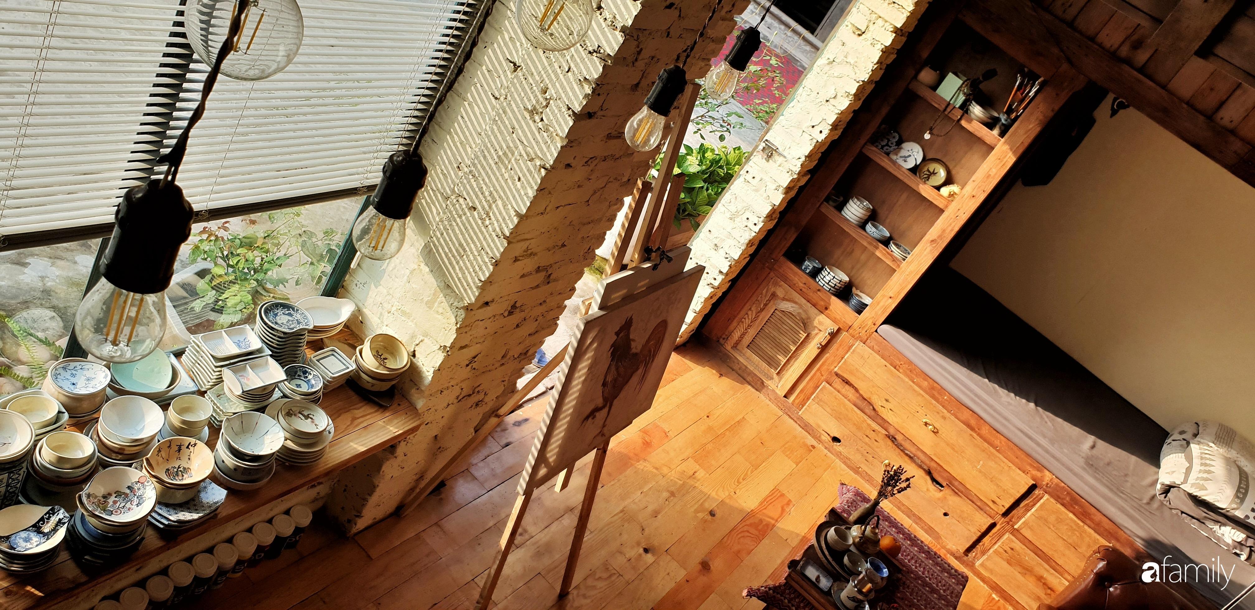 Chàng trai miền Trung biến nhà kho cũ thành ngôi nhà hạnh phúc đẹp lãng mạn cho hai vợ chồng - Ảnh 10.