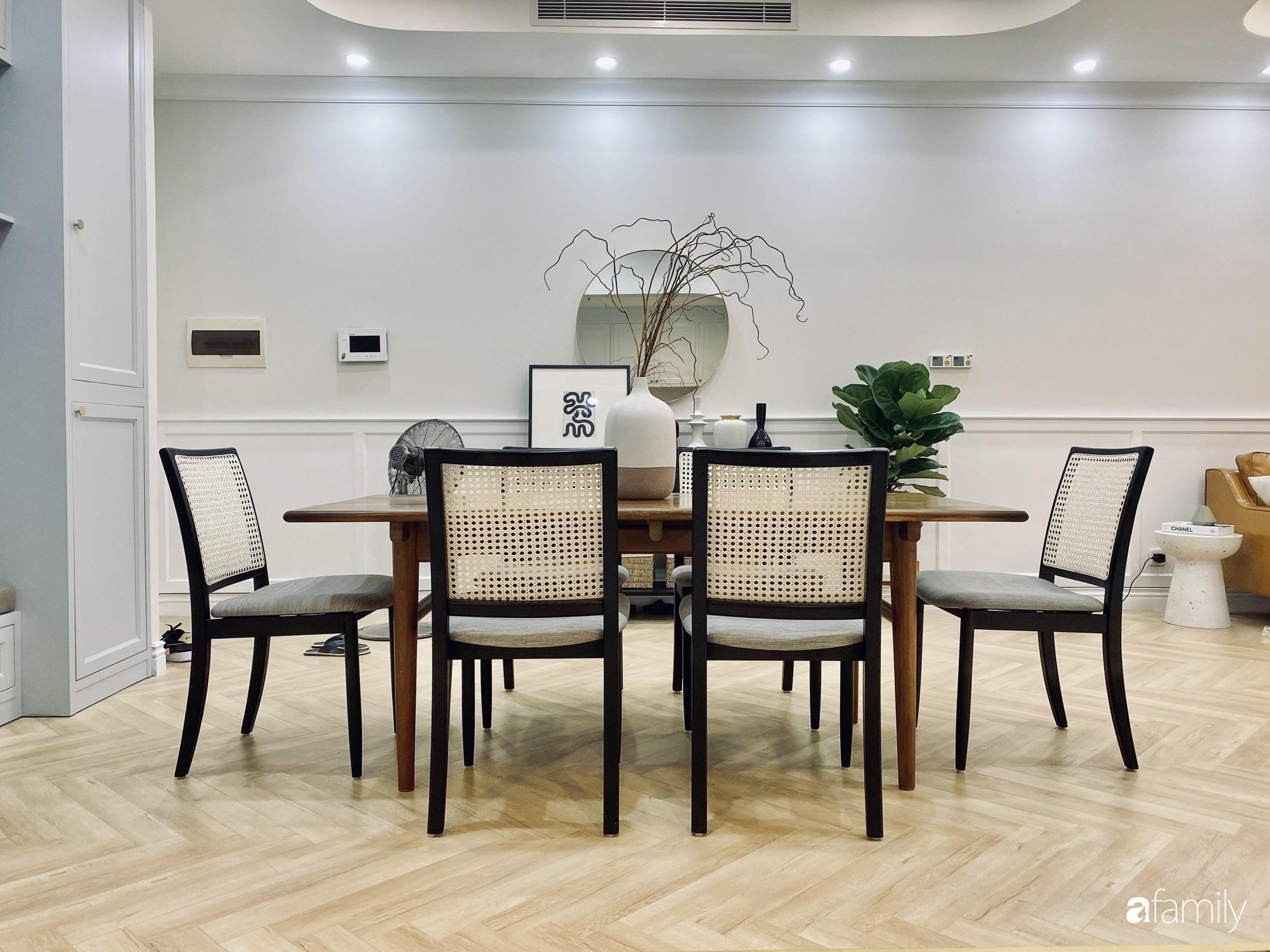 Căn hộ 120m² đẹp bình yên theo phong cách Farmhouse  có chi phí hoàn thiện 465 triệu đồng ở Hà Nội - Ảnh 10.