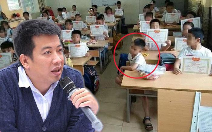 """Nhà văn Hoàng Anh Tú: """"Hãy nhìn nhận thành thật với nhau rằng việc một đứa trẻ không có giấy khen là một vấn đề!"""""""