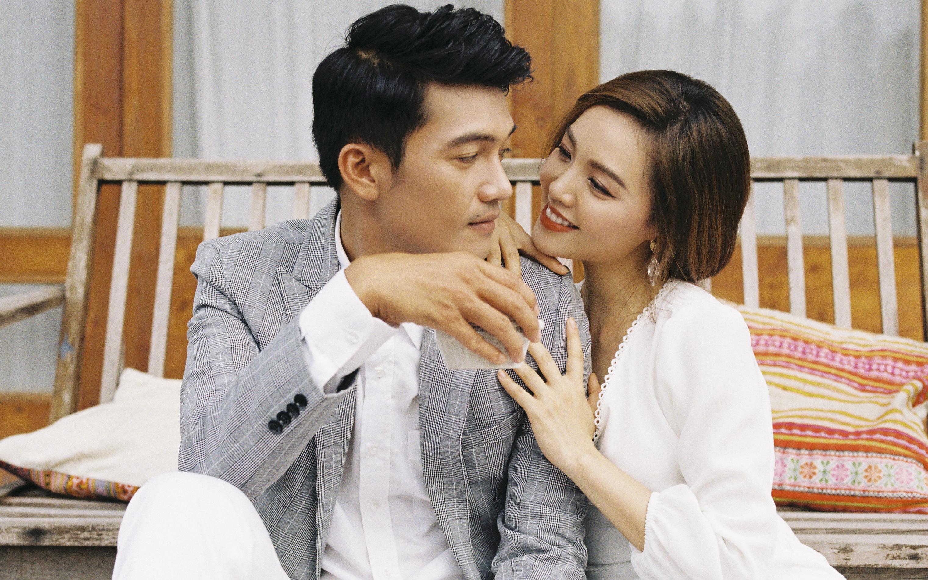 Quang Tuấn than bị vợ lạnh nhạt sau khi sinh con, Linh Phi tiết lộ lý do là vì quá sợ chồng