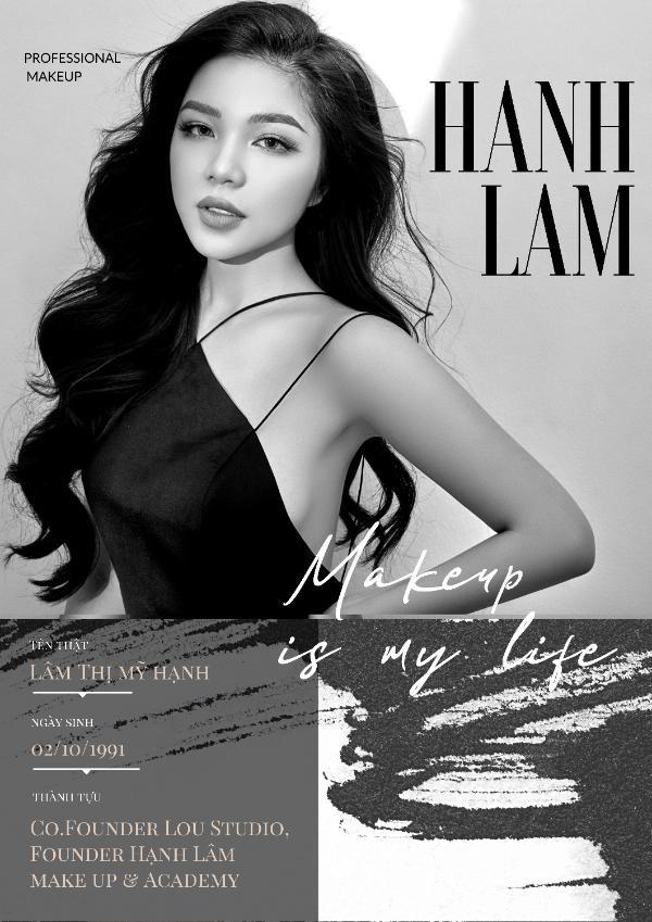 M.U.A Hạnh Lâm – người tiên phong đưa Make up Art về Việt Nam - Ảnh 1.