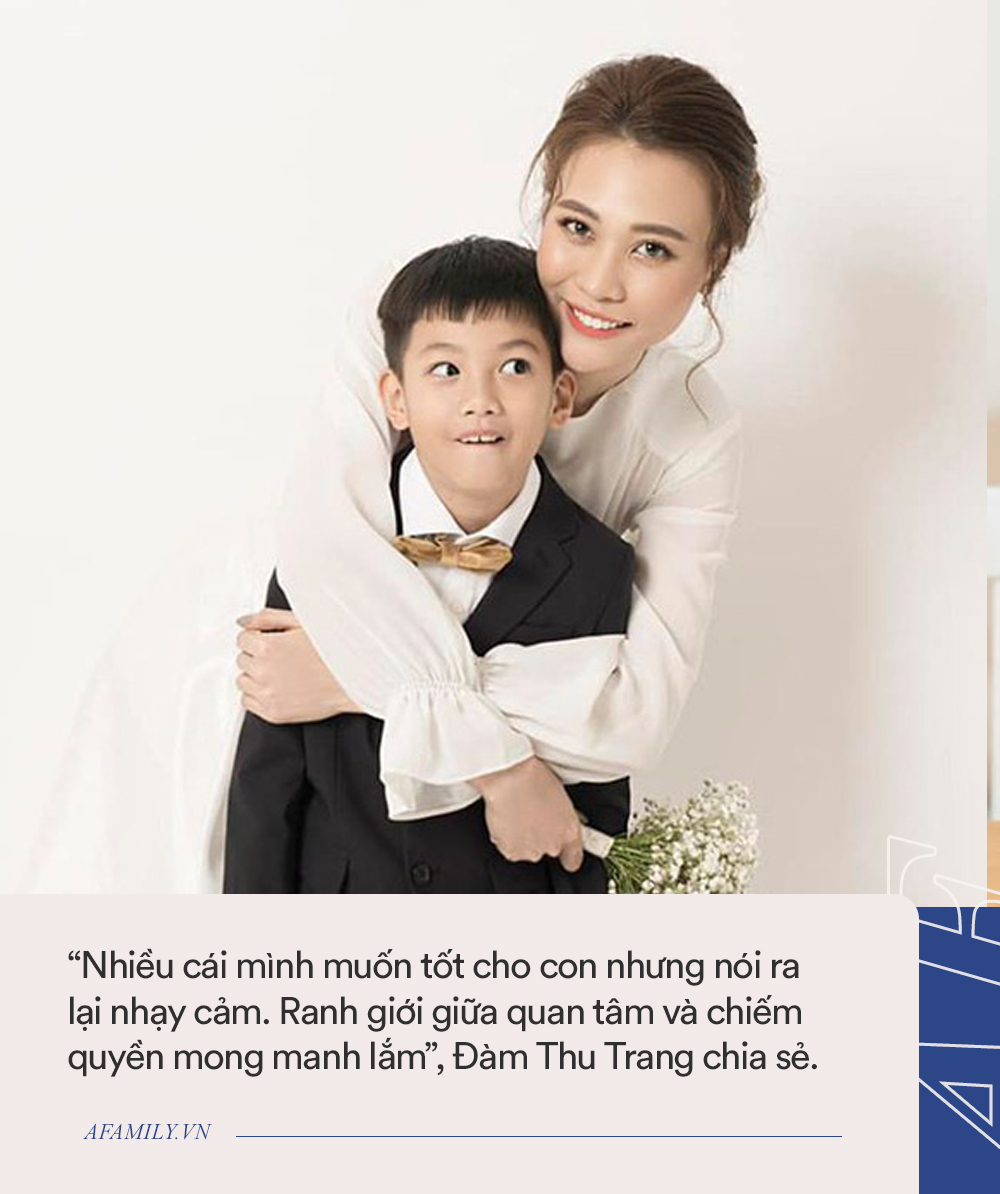 Nhiều người thắc mắc mẹ kế Đàm Thu Trang dạy dỗ Subeo thế nào, cô từng trả lời 1 câu nhận về muôn vàn lời khen như này - Ảnh 6.