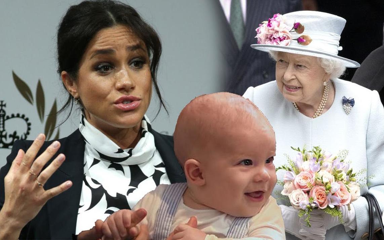 Trước sự trả thù đầy toan tính của Meghan Markle, Nữ hoàng Anh lo sợ cho bé Archie nhất