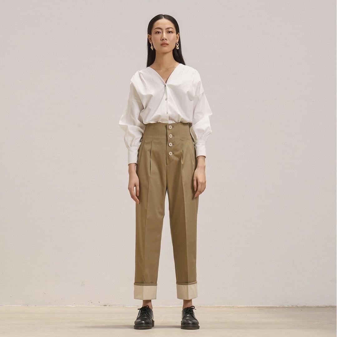 Nhìn Jolie Nguyễn mà rút kinh nghiệm, chị em đừng chọn mẫu quần này nếu không muốn dìm dáng và người lùn 1 mẩu - Ảnh 8.