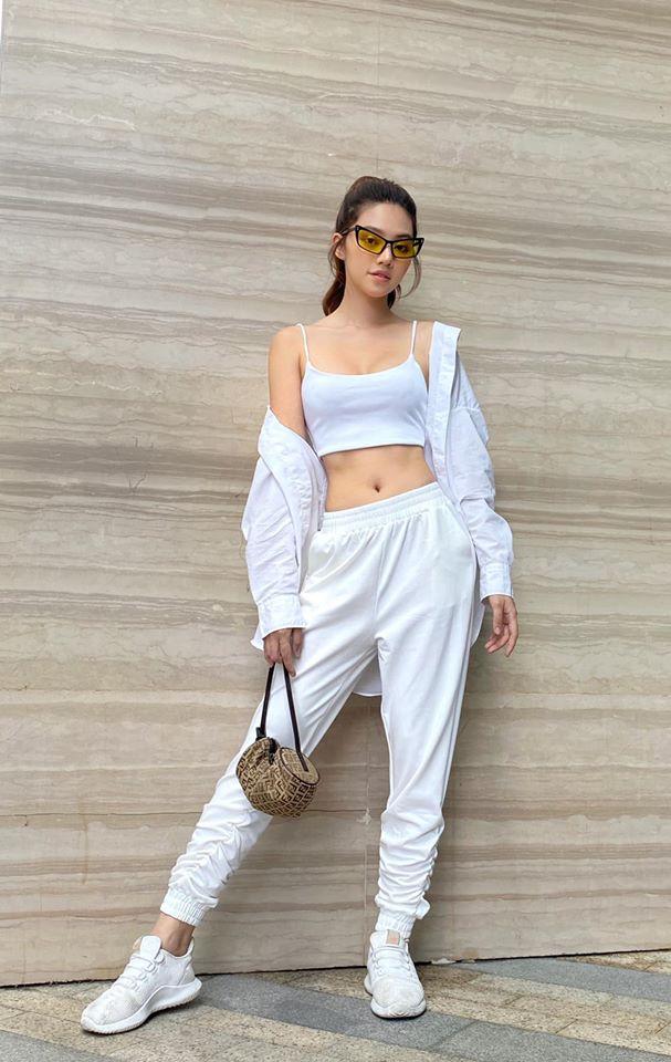 Nhìn Jolie Nguyễn mà rút kinh nghiệm, chị em đừng chọn mẫu quần này nếu không muốn dìm dáng và người lùn 1 mẩu - Ảnh 4.
