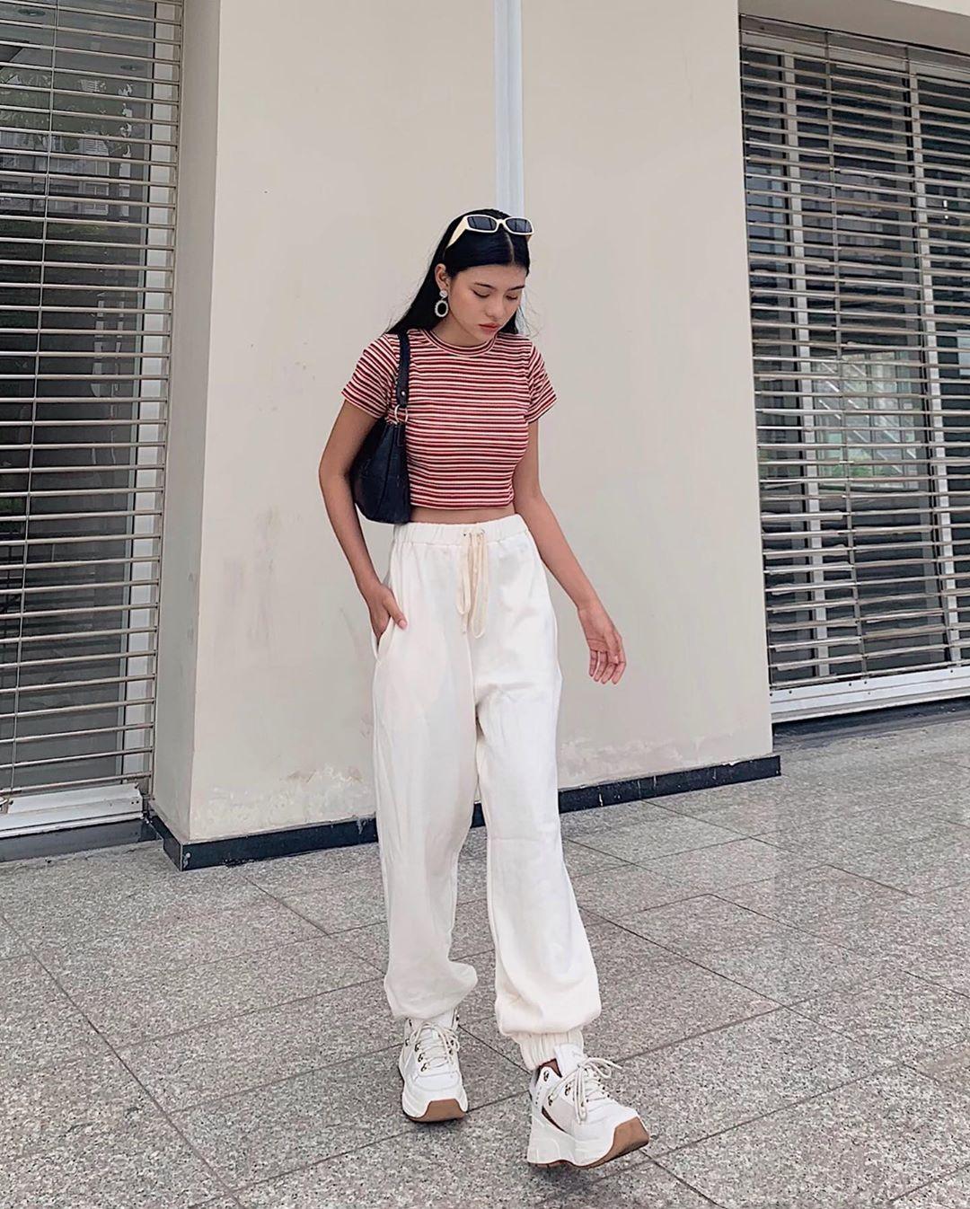 Nhìn Jolie Nguyễn mà rút kinh nghiệm, chị em đừng chọn mẫu quần này nếu không muốn dìm dáng và người lùn 1 mẩu - Ảnh 6.