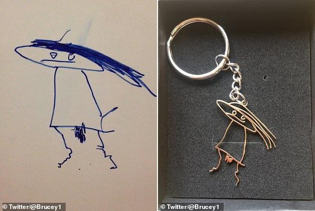 """Cười ngặt nghẽo trước những bức chân dung vẽ bố mẹ và thú cưng của trẻ: hình vẽ và thực tế trông như """"người dưng ngược lối"""" - Ảnh 1."""