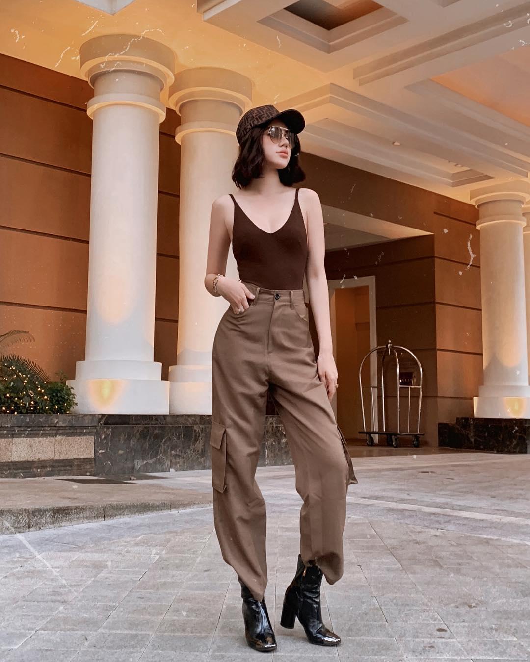 Nhìn Jolie Nguyễn mà rút kinh nghiệm, chị em đừng chọn mẫu quần này nếu không muốn dìm dáng và người lùn 1 mẩu - Ảnh 3.
