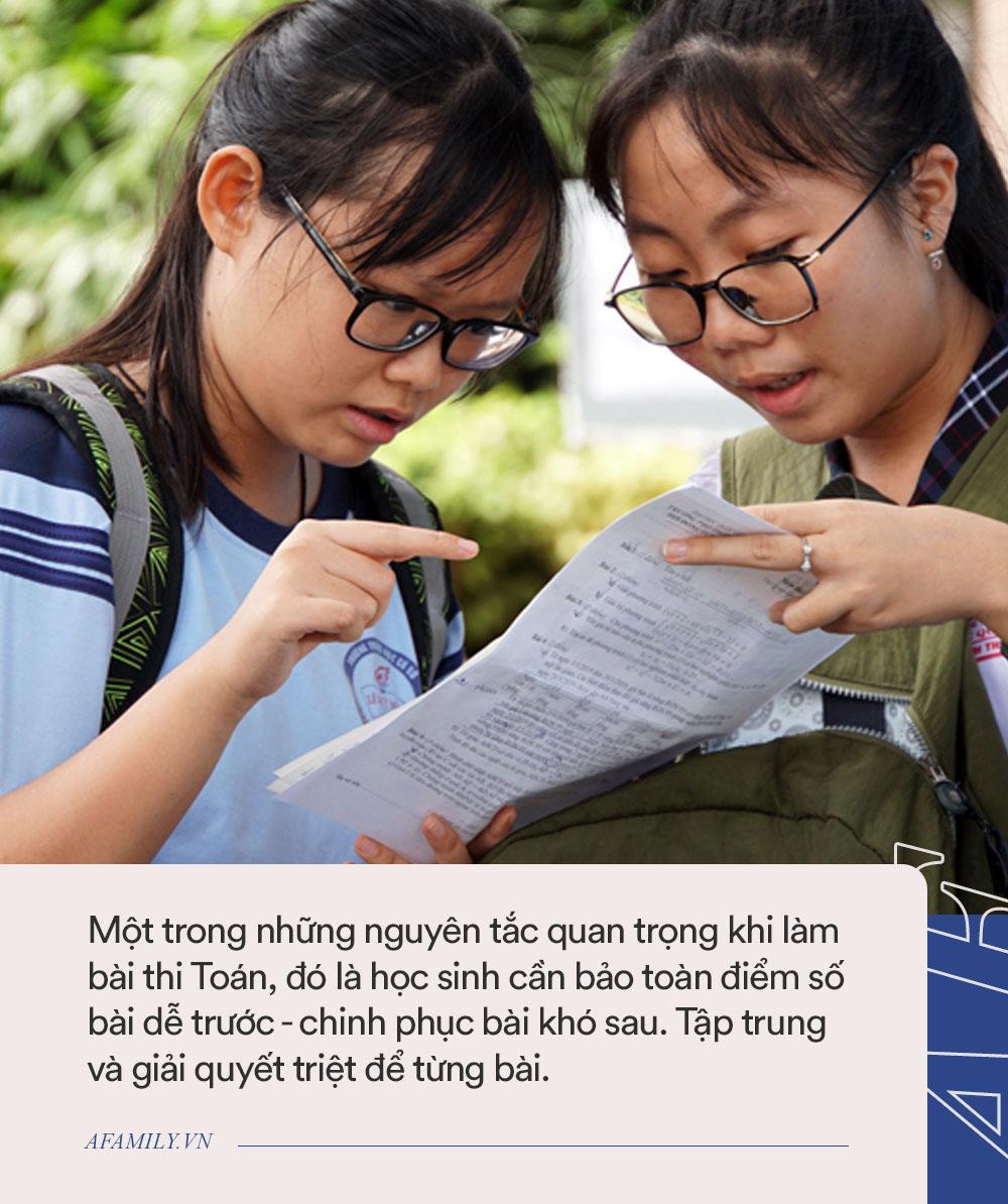9 điều học sinh cần nhớ kỹ trước ngày thi tuyển sinh môn Toán lớp 10: Thành bài hay không đều nhờ những điều này cả! - Ảnh 3.
