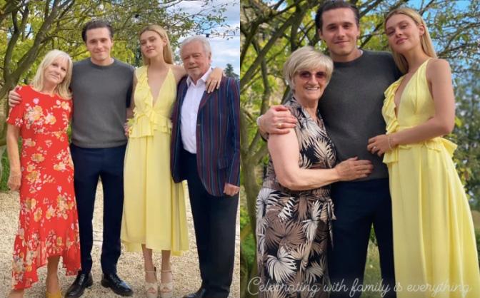 Con dâu nhà tỷ phú tiết lộ bí mật đằng sau bức ảnh đính hôn với Brooklyn Beckham, hoá ra cả Harper và Victoria giúp sức - Ảnh 5.