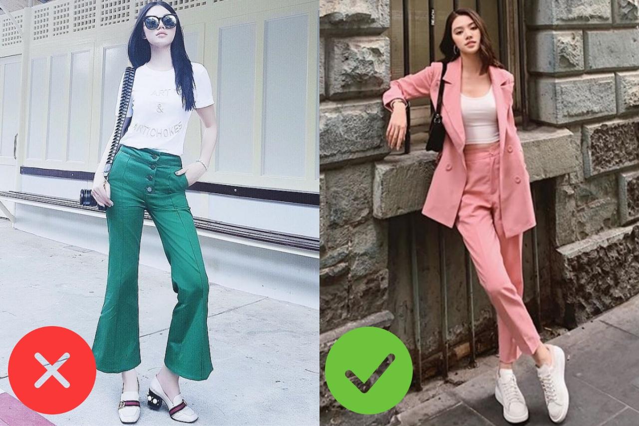 Nhìn Jolie Nguyễn mà rút kinh nghiệm, chị em đừng chọn mẫu quần này nếu không muốn dìm dáng và người lùn 1 mẩu - Ảnh 1.