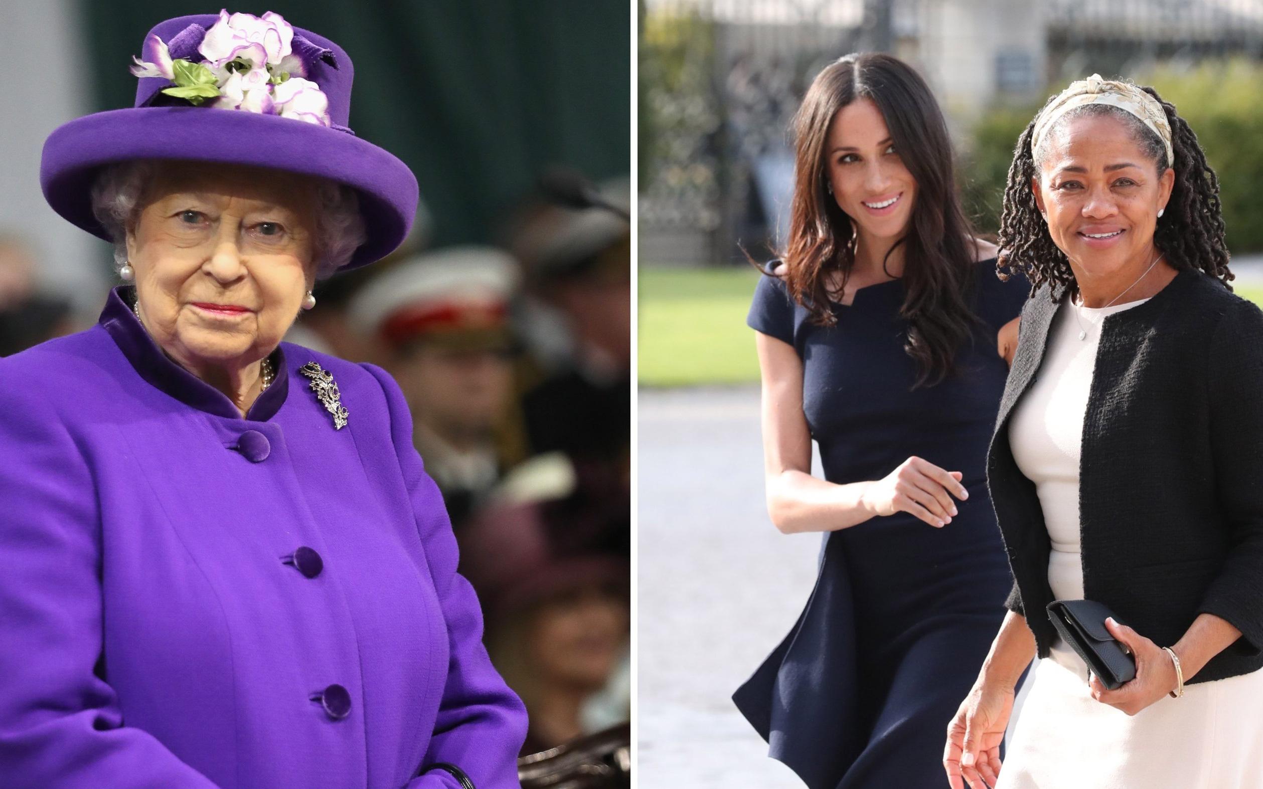 Meghan Markle ''được voi đòi tiên'' khi muốn mẹ đẻ trở thành nữ bá tước và thái độ rõ ràng của Nữ hoàng Anh