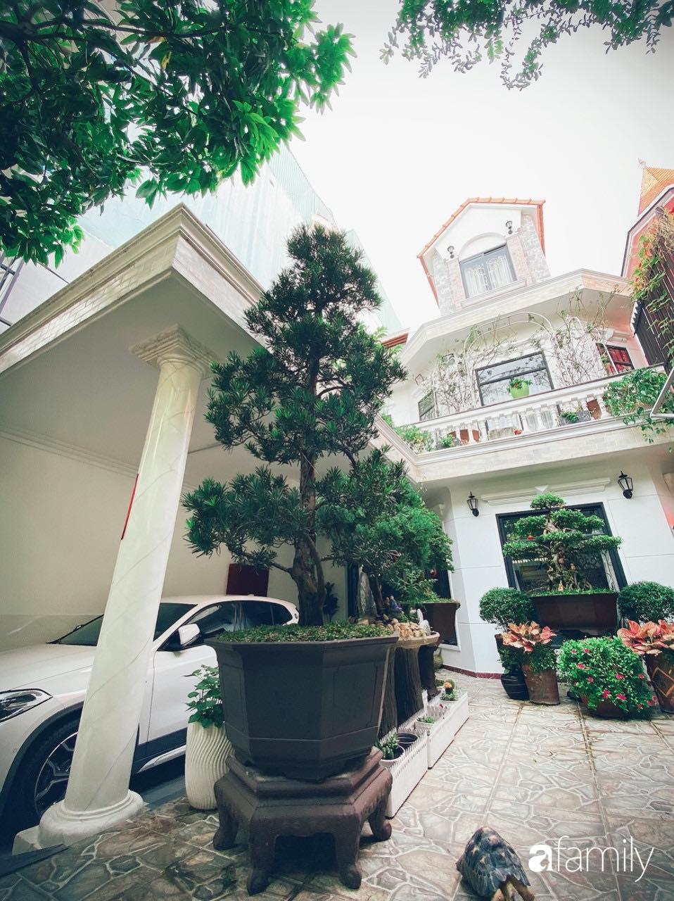 Biệt thự xanh mát bóng cây và hoa hồng rực rỡ của người phụ nữ yêu thiên nhiên ở TP. HCM - Ảnh 3.