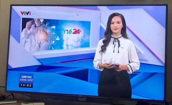 """Vừa mới lên sóng, nữ MC mới của """"Chuyển động 24h"""" đã gây sốt vì quá duyên dáng, lại còn từng là thí sinh Hoa hậu  - Ảnh 3."""