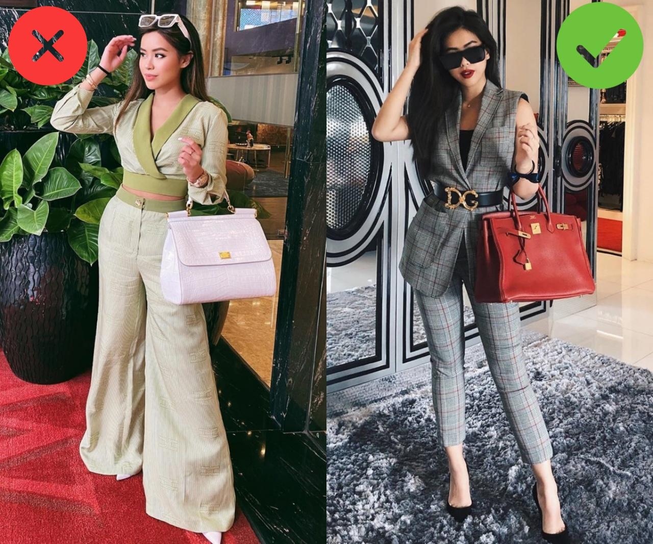 Nổi tiếng mặc đẹp mà rich kid Tiên Nguyễn cũng có ngày chọn nhầm hàng hiệu khiến vóc dáng bị dìm thảm hại - Ảnh 1.