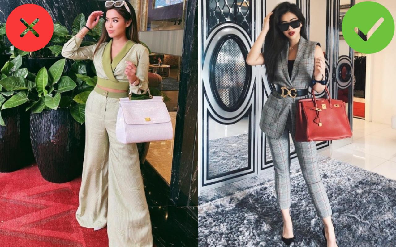 Nổi tiếng mặc đẹp mà Rich kid Tiên Nguyễn cũng có ngày chọn nhầm hàng hiệu khiến vóc dáng bị dìm thảm hại