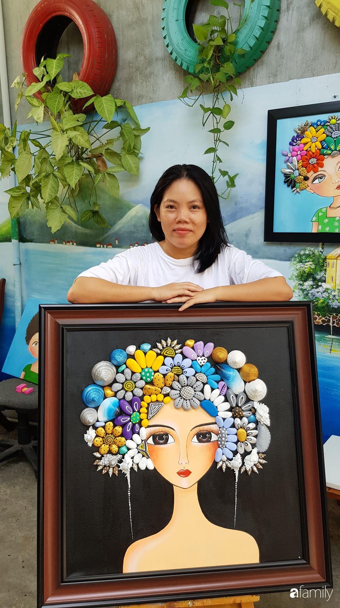 Bỏ 2 triệu, mẹ đảm ở Đà Nẵng trang trí lại không gian sống đẹp như mơ chỉ từ những món đồ tái chế mà ai cũng bỏ đi - Ảnh 2.