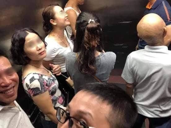 Toàn cảnh vụ rơi thang máy trong bệnh viện ở Hà Nội, nhưng thay vì la hét hay hoảng loạn thì nhóm người này lại làm một hành động khiến ai cũng... mừng - Ảnh 3.
