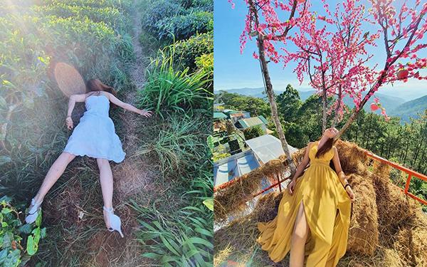 """Đang buồn ngủ mà phải đi du lịch, thiếu nữ Huế có bộ ảnh để đời mang tên """"Buông lơi Đà Lạt"""" hút sóng hơn 14.000 like"""