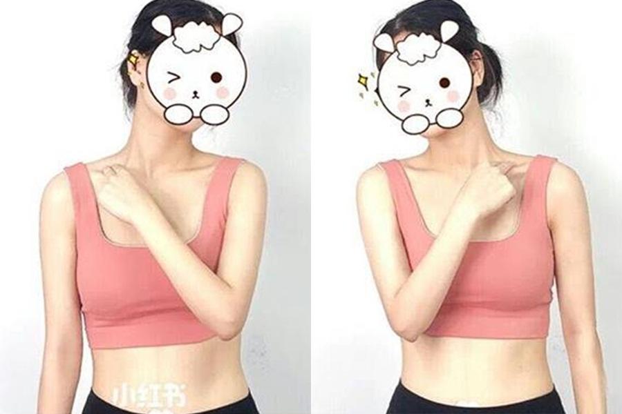 Mê vai vuông góc của Jennie, con gái Trung Quốc thi nhau tập tành để vai đẹp như thần tượng - Ảnh 9.