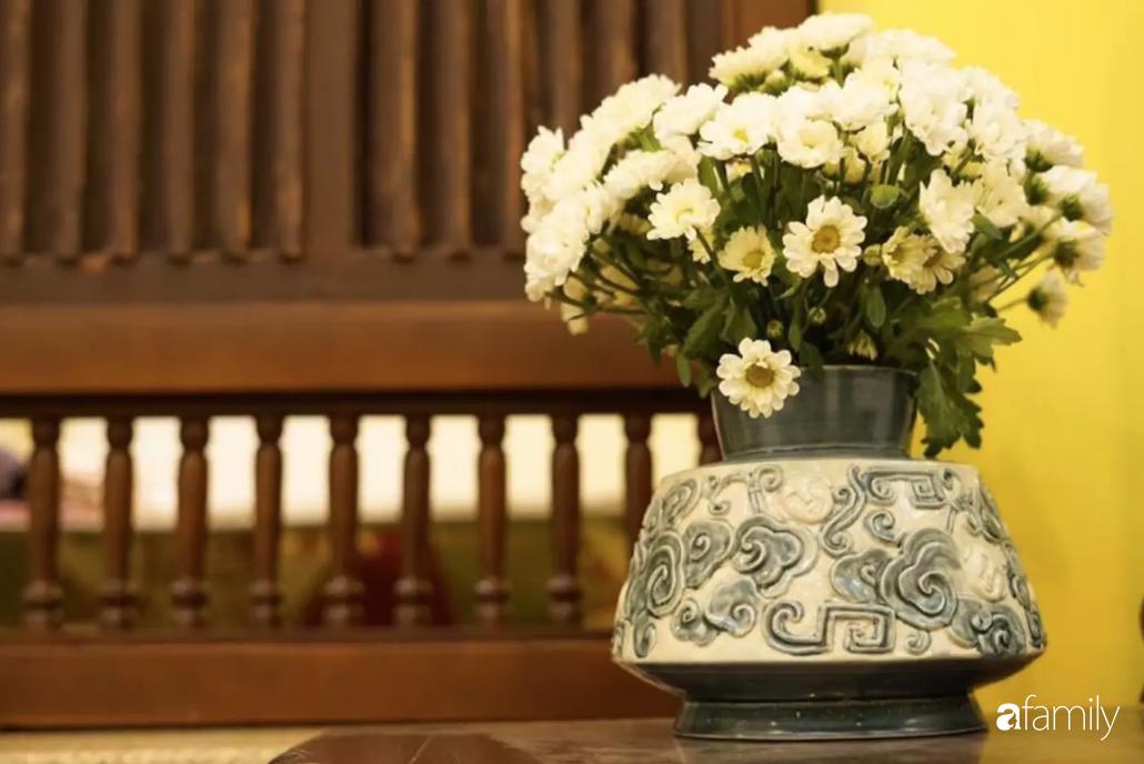 Căn hộ tập thể vàng ươm sắc nắng đẹp mang vẻ hoài cổ ấn tượng ở quận Hoàn Kiếm, Hà Nội - Ảnh 11.