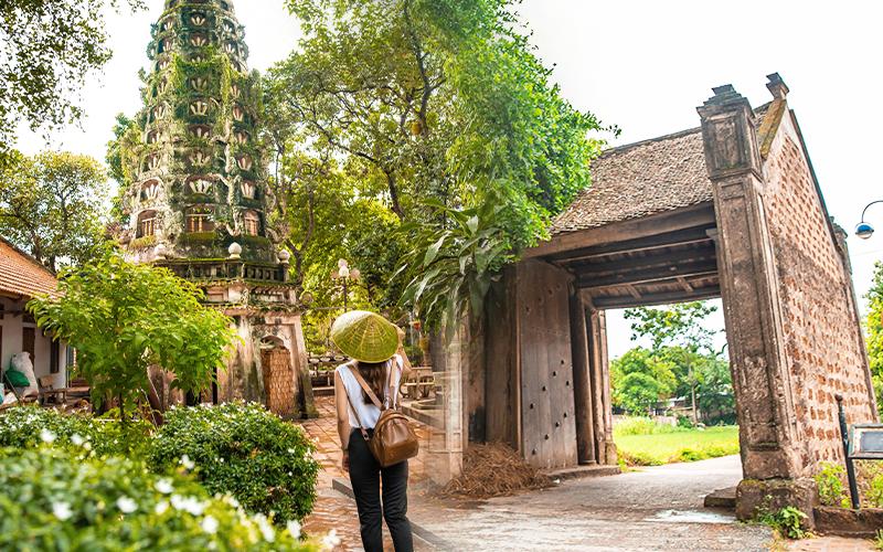 """Ngoại thành Hà Nội có một """"cổ trấn"""" trăm năm tuổi, nơi lưu giữ tuổi thơ của những con người lớn lên vùng đất Bắc"""