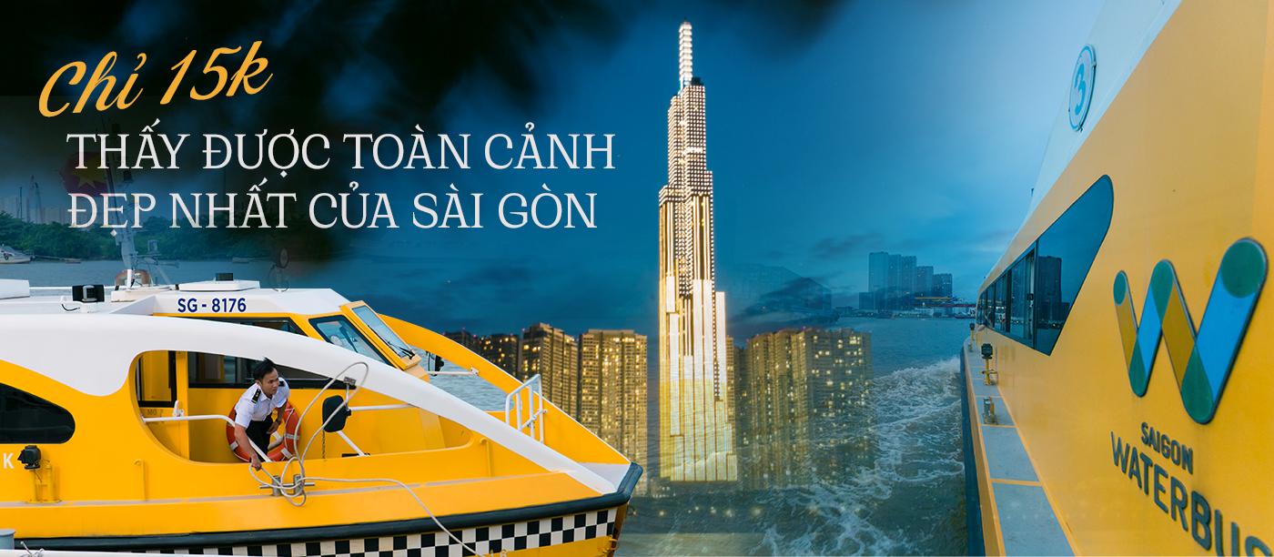 Bất ngờ về độ hot của bus tàu thủy tại Bạch Đằng sau hơn 3 năm khánh thành, hàng trăm người xếp hàng chờ mỗi ngày để mong thấy được cảnh có 1-0-2 này của Sài Gòn - Ảnh 1.