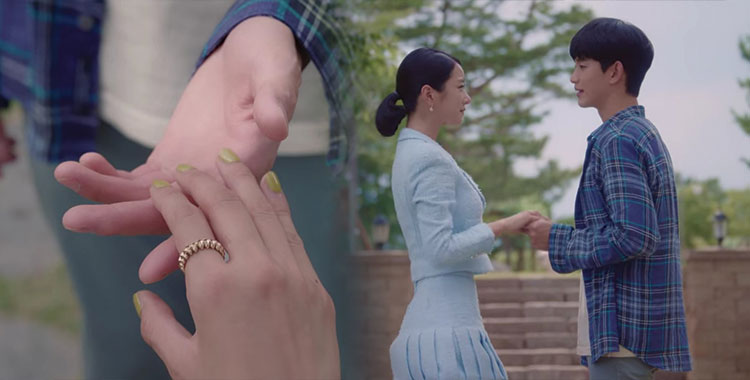 """Đối lập với sao Vbiz chuộng nail vuốt nhọn cầu kỳ, Seo Ye Ji trong """"Điên Thì Có Sao"""" sang chảnh ngút ngàn thế mà chỉ để nail đơn giản - Ảnh 4."""