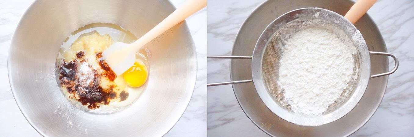 Chuối chín thì chẳng ai ăn ấy vậy mà làm bánh chuối thì hết nhanh đến ngỡ ngàng - Ảnh 2.
