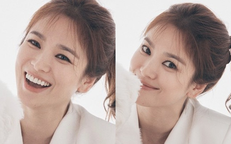 """Dù để tóc """"hack tuổi"""", Song Hye Kyo vẫn lộ dấu hiệu lão hóa rõ rành rành không thể chối cãi - Ảnh 4."""