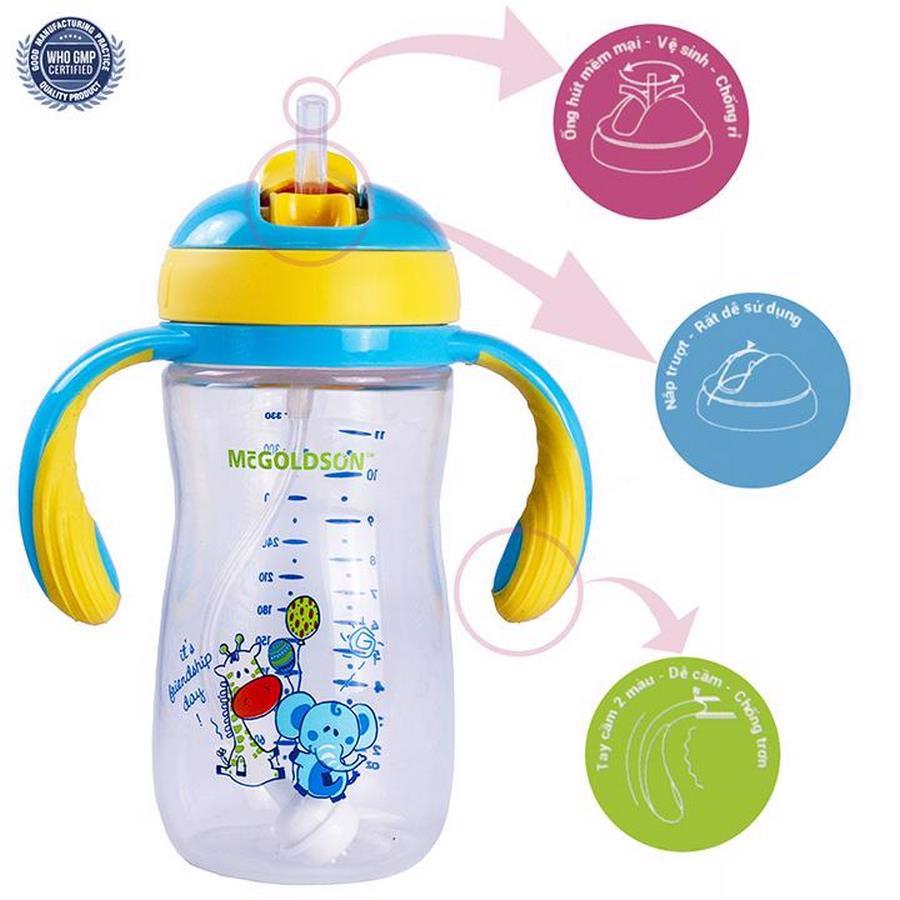 Mách các mẹ những loại cốc tập uống cho bé an toàn, không lo sặc nước - Ảnh 3.
