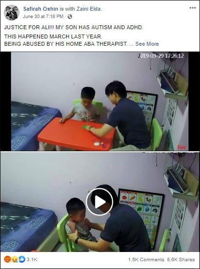 Thấy con cứ luôn khóc la trong khi đang điều trị tự kỷ cùng nhà trị liệu, bà mẹ đã đặt máy quay lén và kinh hoàng với những gì mình nhìn thấy - Ảnh 5.