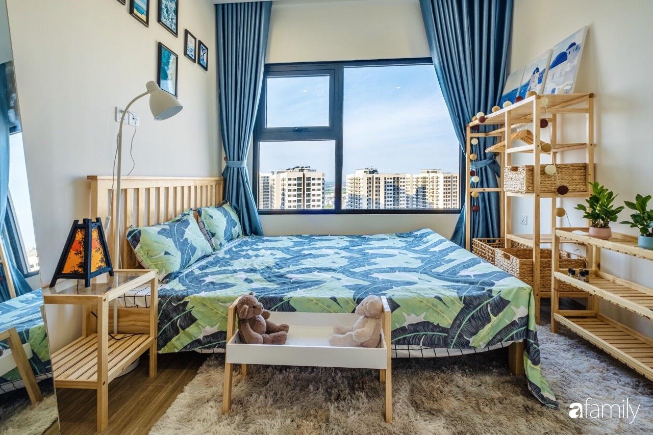 Căn hộ 46m² đẹp tươi tắn với sắc xanh mùa hè có chi phí hoàn thiện 70 triệu đồng của chàng sinh viên Hà Nội - Ảnh 9.