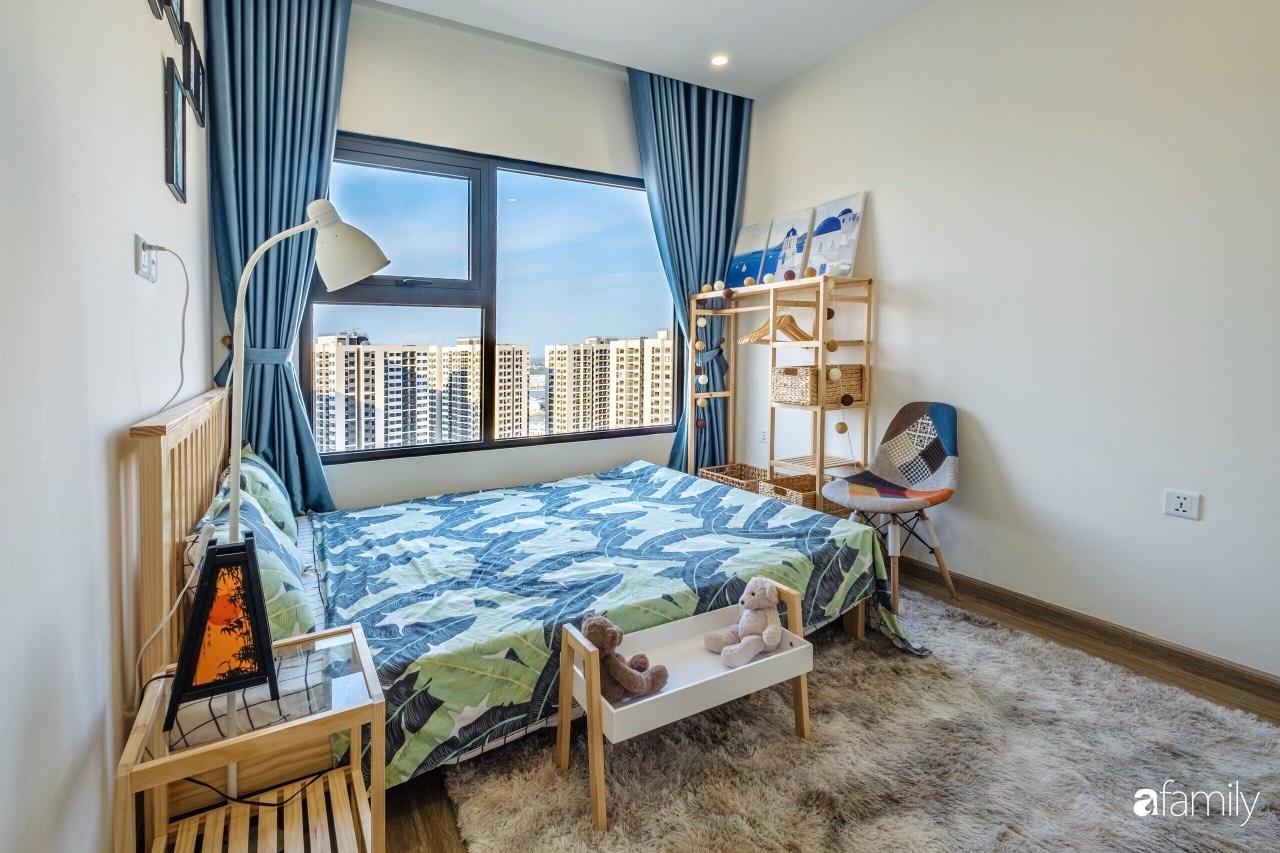 Căn hộ 46m² đẹp tươi tắn với sắc xanh mùa hè có chi phí hoàn thiện 70 triệu đồng của chàng sinh viên Hà Nội - Ảnh 10.