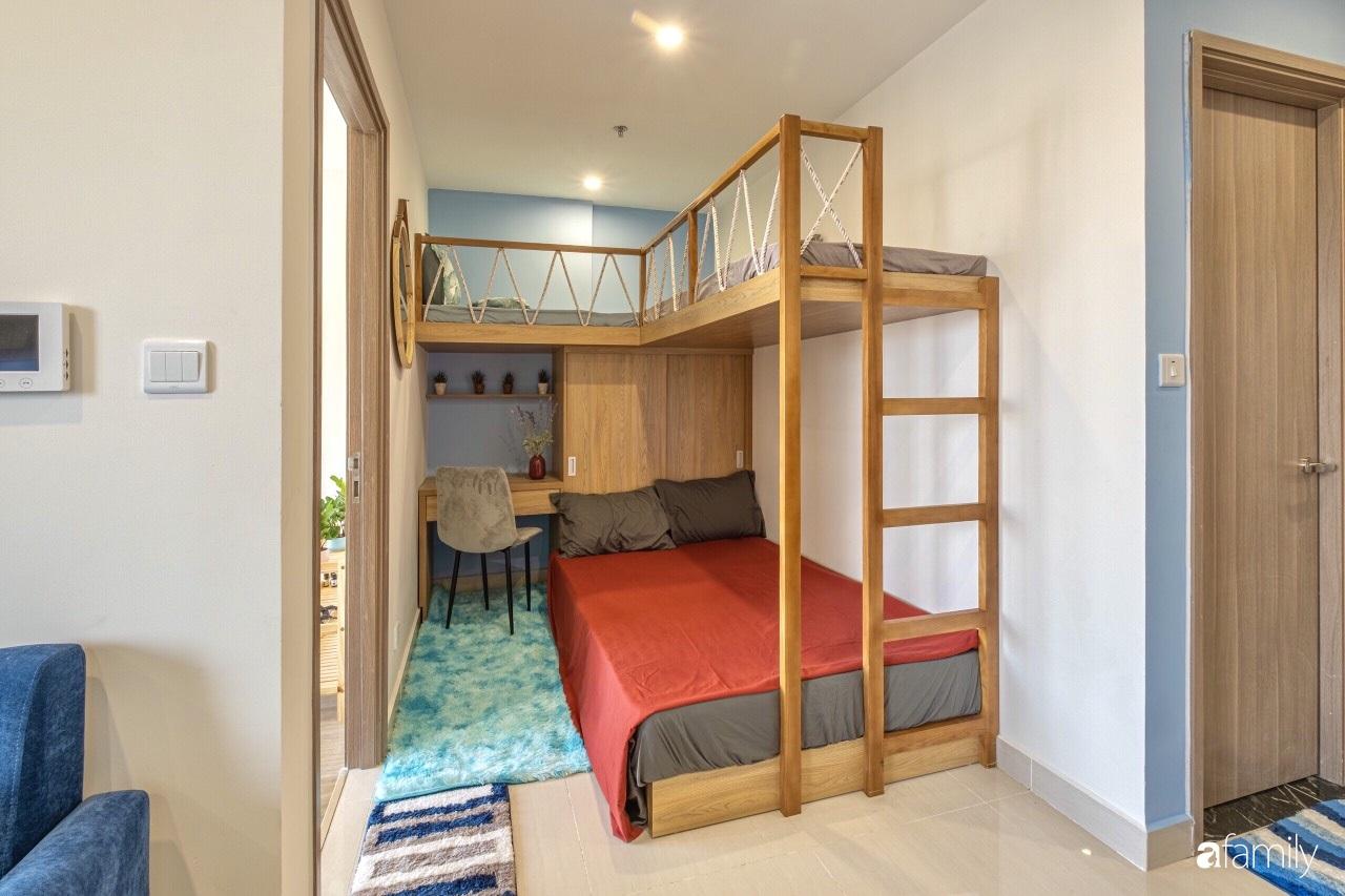 Căn hộ 46m² đẹp tươi tắn với sắc xanh mùa hè có chi phí hoàn thiện 70 triệu đồng của chàng sinh viên Hà Nội - Ảnh 14.