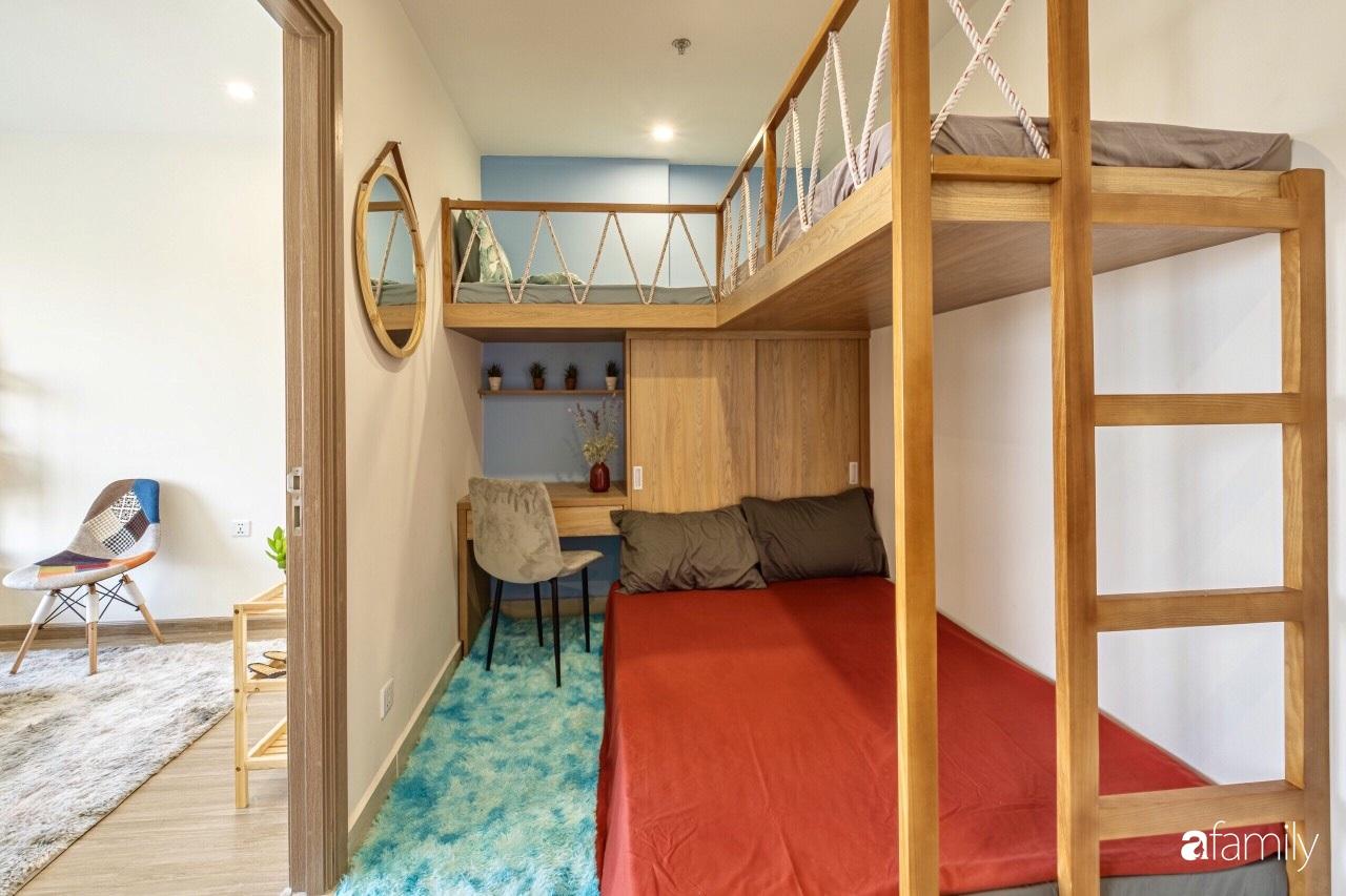 Căn hộ 46m² đẹp tươi tắn với sắc xanh mùa hè có chi phí hoàn thiện 70 triệu đồng của chàng sinh viên Hà Nội - Ảnh 15.