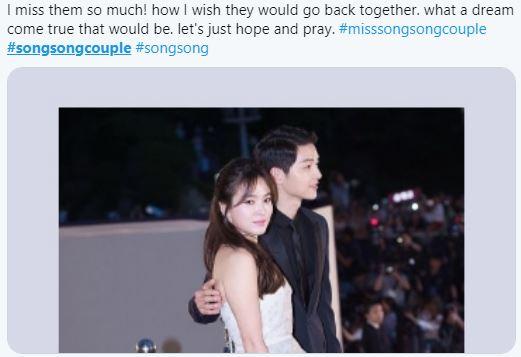 Tròn 1 năm kể từ ngày tòa án công bố Song Hye Kyo - Song Joong Ki chính thức hoàn tất thủ tục ly hôn fan hâm mộ lại đồng loạt kêu gọi điều này  - Ảnh 3.